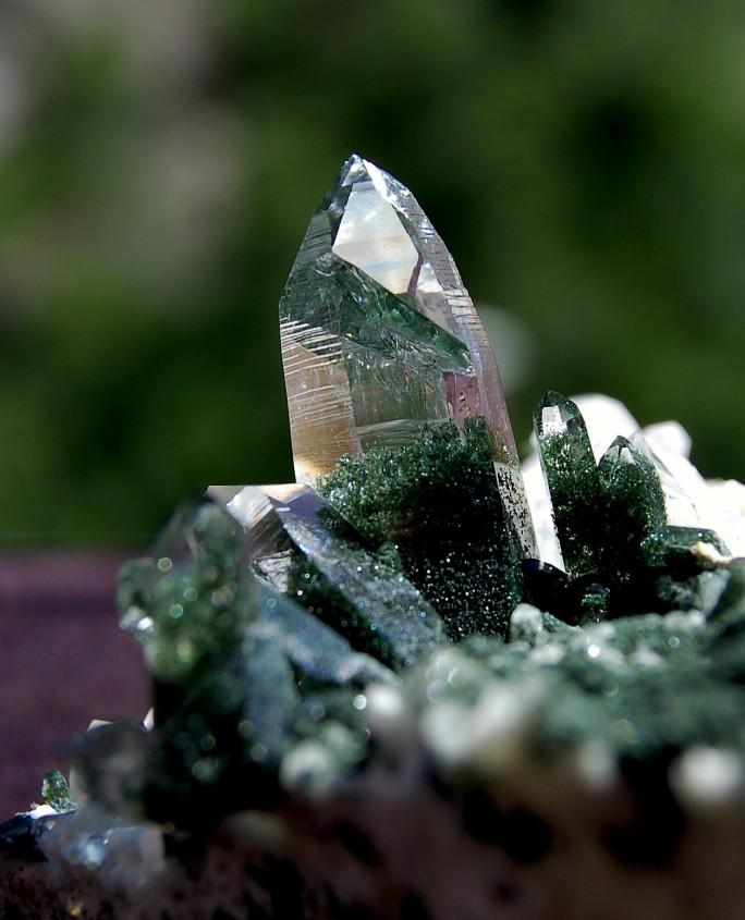 Gruener Kristall
